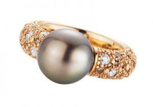Juwelier Hans Press Perlschmuck Ring